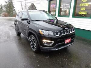 2017 Jeep Compass Limited for only $228 bi-weekly all in!