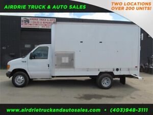2004 Ford Econoline Cutaway Cube Van with Low Kms
