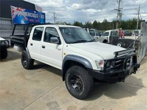 2000 Toyota Hilux KZN165R SR5 (4x4) White 5 Speed Manual 4x4 Dual Cab Pick-up Lilydale Yarra Ranges Preview