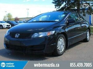 2010 Honda Civic DX-G - LOW KM'S - NO FEES - GREAT VALUE