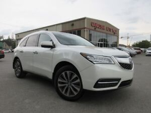 2014 Acura MDX AWD, NAV, ROOF, LEATHER, 45K!