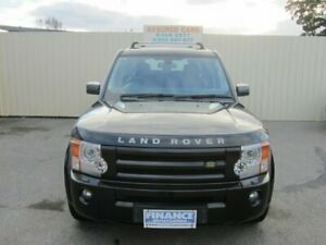 2009 Land Rover Discovery 3 MY09 HSE Santorini Black 6 Speed Automatic Wagon Windsor Gardens Port Adelaide Area Preview