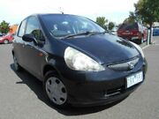 2005 Honda Jazz Upgrade GLi Black Continuous Variable Hatchback Maidstone Maribyrnong Area Preview
