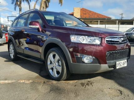 2013 Holden Captiva CG MY13 7 AWD LX Burgundy 6 Speed Sports Automatic Wagon Blair Athol Port Adelaide Area Preview