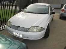 2001 Ford Falcon AU II XL Super Cab White 4 Speed Automatic Cab Chassis Tottenham Maribyrnong Area Preview