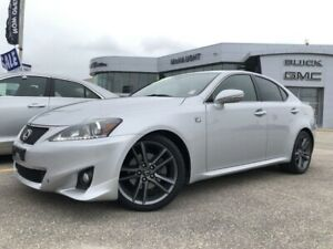 2012 Lexus IS 250 F-Sport RWD | Navigation | Sunroof | Heated Se