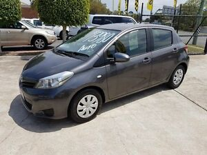2012 Toyota Yaris NCP130R YR Grey 4 Speed Automatic Hatchback Acacia Ridge Brisbane South West Preview