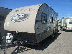 2016 Wolfpup 16BHS  **Bunks & SUV Towable!**