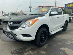 2014 Mazda BT-50 MY13 GT (4x4) White 6 Speed Automatic Dual Cab Utility Clyde Parramatta Area Preview