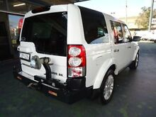 2011 Land Rover Discovery 4 MY11 3.0 SDV6 SE White 6 Speed Automatic Wagon Hamilton Newcastle Area Preview