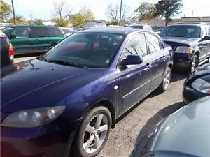 2005 Mazda Mazda3 as-traded runs and drives as-is
