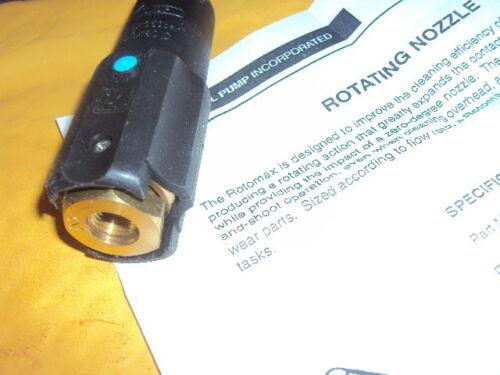 GENERAL PUMP ZROTOMAX2 Nozzle,Rotating  , ADJUSTABLE , 3500 PSI