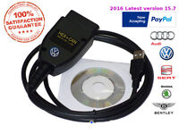 2016 VAG15 as good as VAGCOM VCDS VAS HEX USB CAN, The best Diagnostic tool for AUDI VW SEAT SKODA.