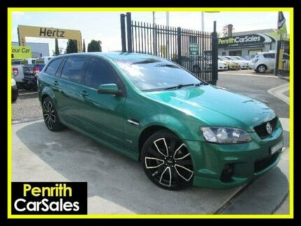 2011 Holden Commodore VE II SV6 Green Sports Automatic Wagon Penrith Penrith Area Preview