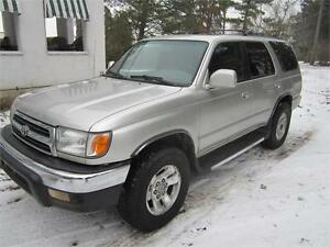 2000 Toyota 4Runner	RARE 5 Speed Manual