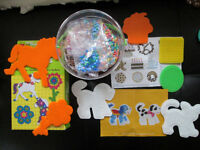 Perler Fun Fusion Beads- The Bakery, Dog & Cat, Flower Power Lot