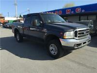 2003 Ford Super Duty F-250 Lariat cuir gris