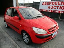 2006 Hyundai Getz TB Upgrade 1.6 Red 5 Speed Manual Hatchback West Perth Perth City Preview