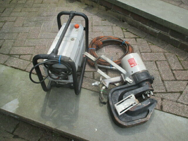 ALFRA APS-120 PUNCHING PRESS+SC 05-II ELECTRIC HYDRAULIC