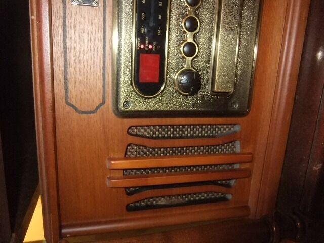 old style radio cd, gramofone