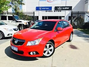 2014 Holden Cruze JH MY14 Equipe Red 6 Speed Automatic Hatchback Beckenham Gosnells Area Preview