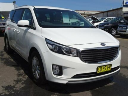 2018 Kia Carnival YP MY18 SI White 6 Speed Sports Automatic Wagon Albion Park Rail Shellharbour Area Preview