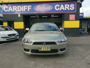 2010 Mitsubishi Lancer CJ MY11 ES Sportback Gold 6 Speed CVT Auto Sequential Hatchback Cardiff Lake Macquarie Area Preview