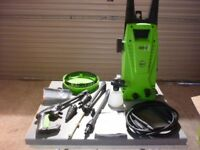 New Draper 1500w pressure Washer with Accessories