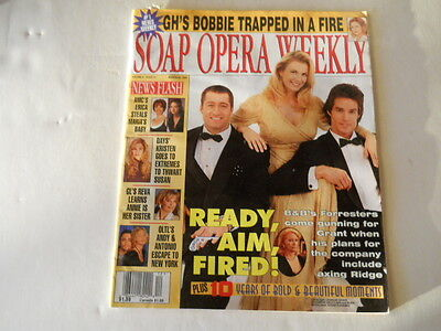 The Bold And The Beautiful   Soap Opera Weekly Magazine 1997
