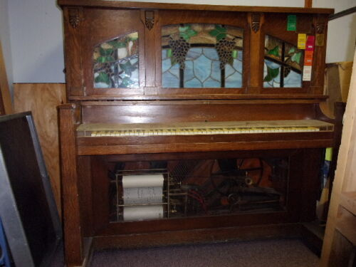 Wurlitzer Style S Coin- op Player Piano from about 1915