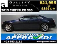 2013 CHRYSLER 300 TOURING *EVERYONE APPROVED* $0 DOWN $149/BW!