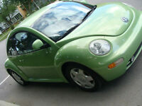 1998 Volkswagen New Beetle coupe 5 vitesses