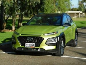 2017 Hyundai Kona OS MY18 Launch Edition D-CT AWD Black 7 Speed Sports Automatic Dual Clutch Wagon Murray Bridge Murray Bridge Area Preview