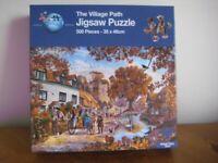 500 PIECE JIGSAW PUZZLE - THE VILLAGE PATH