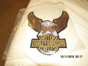 Harley Davidson Patch for a Jacket London Ontario image 1