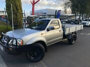 2005 Nissan Navara D22 S2 ST-R Silver 5 Speed Manual Cab Chassis Seaford Frankston Area Preview