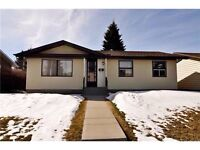 Calgary north east bungalow for sale