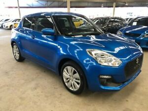 2018 Suzuki Swift AL GL Navigator Blue Continuous Variable Hatchback Cannington Canning Area Preview
