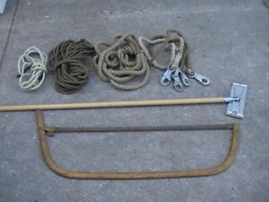 *** Bow Saw, Rope, Drywall Sanding Tool