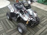 110 cc 4 stroke quad with forward and reveres