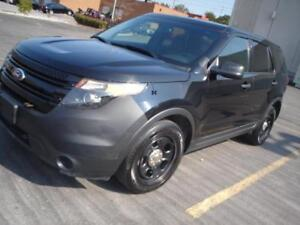 2013 Ford EXPLORER,AWD,BACK UP CAMERA,BLK/BLK EX POLICE EXPLORER