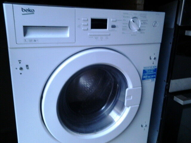 beko integral washing machine