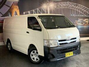 2012 Toyota HiAce TRH201R MY11 LWB White 4 Speed Automatic Van Prospect Blacktown Area Preview