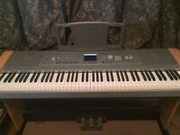 Yamaha DGX-660 Portable Grand Digital Piano (optional- selection of music books included)