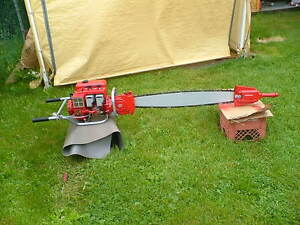 IEL 2 MAN TWIN CYLINDER CHAINSAW