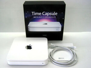 Apple External HD Backup & Router (Time Capsule)