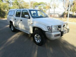 2004 Toyota Hilux KZN165R SR5 (4x4) White 5 Speed Manual 4x4 Dual Cab Pick-up Gilles Plains Port Adelaide Area Preview