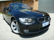 2007 BMW 335i E93 Black 6 Speed Automatic Convertible Willagee Melville Area Preview