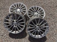 "SET OF 4 RANGE ROVER 18"" ALLOYS"