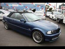 2000 BMW 330CI E46 E46 Blue 5 Speed Auto Steptronic Convertible Kingsville Maribyrnong Area Preview